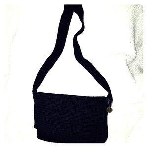 THE SAK - Like new NAVY flap shoulder bag